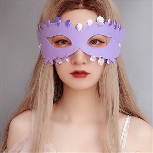 Halloween Mermaid Masks, Costume Ball Masks, Masquerade Party Mask, Mermaid Cosplay Mask, Gothic Sexy Eye Mask, Animal Masks, Halloween Cospaly Mask, Anime Cosplay Mask, #MS21441