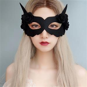 Halloween Fox Masks, Costume Ball Masks, Masquerade Party Mask, Adult and Child Mask, Gothic Sexy Eye Mask, Animal Masks, Halloween Devil Cospaly Mask, Anime Cosplay Mask, #MS21442