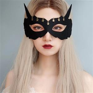 Halloween Fox Masks, Costume Ball Masks, Masquerade Party Mask, Adult and Child Mask, Gothic Sexy Eye Mask, Animal Masks, Halloween Devil Cospaly Mask, Anime Cosplay Mask, #MS21444