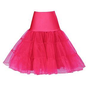 Sexy Rose Skirt Petticoat, Fashion Rose Skirt, Cheap Ladies Tulle Petticoat, Party Dress Petticoat, Plus Size Petticoat, #HG11263