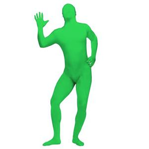 Green Invisible Costume for Mens, Invisible Man Cosplay Costume, Mens Green Bodysuit Costume, Halloween Party Outfit, Disappearing Man Costume, Green Halloween Costume, #N15652