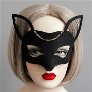 Halloween Masks, Costume Ball Masks, Masquerade Party Mask, Adult and Child Mask, Half Mask, #MS13003