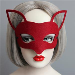 Halloween Masks, Costume Ball Masks, Masquerade Party Mask, Adult and Child Mask, Half Mask, #MS13005