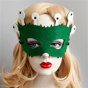 Halloween Masks, Costume Ball Masks, Masquerade Party Mask, Adult and Child Mask, Half Mask, #MS13006