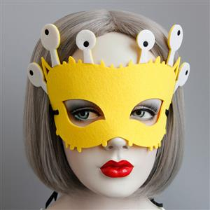 Halloween Masks, Costume Ball Masks, Masquerade Party Mask, Adult and Child Mask, Half Mask, #MS13007