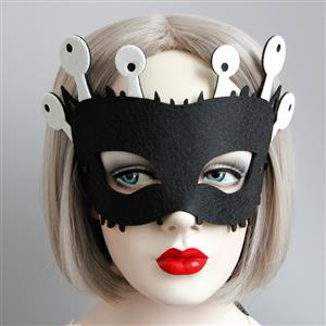 Halloween Masks, Costume Ball Masks, Masquerade Party Mask, Adult and Child Mask, Half Mask, #MS13008