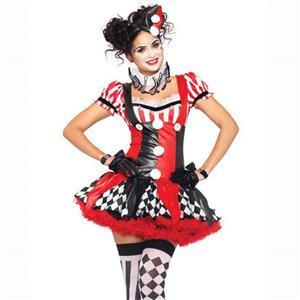 Harlequin Clown Adult Costume N10274