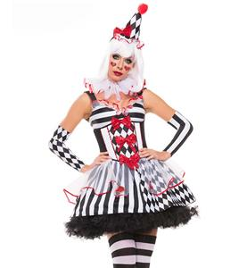 Sexy Clown Costume, Women