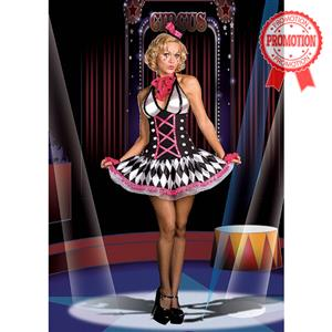 Harlequin Clown Costume, Alice In Wonderland Costume, Clown Costume, Circus Clown Costume, Circus Costume, #N4250