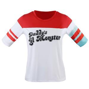 Harley Quinn Costume Women, Costume, Misfit Hipster Costume, Suicide Squad Costume, Batman Costume, Harley Quinn Shirt, #N12703