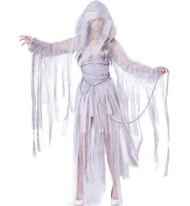 Cheap Halloween Costume, Hot Sale Scary Costume, Scary Bride Costume, Vampire Costume, #N10695