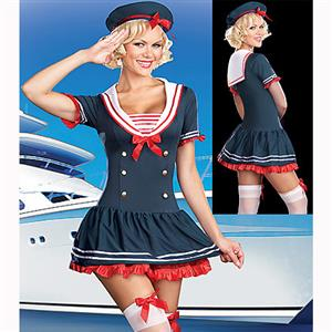 Sexy Sailor Costume, Sexy Mermaid Costumes, Sailor Costumes Women, #M2360