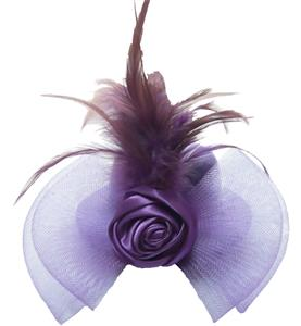 Hen Party Lady Felt Mini Top Hat, Feather Mini Top Hat, Hen Party Women Rose Mini Top Hat, #J8194