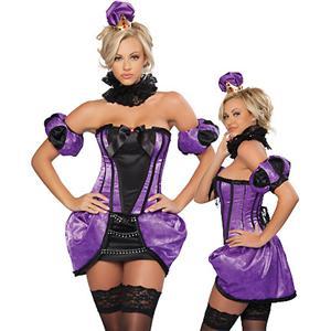 Her Majesty Queen Costume, Queen Costume, Queen Adult Costume, #N4913