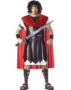 Hercules Costume, Roman Couples Costume, Roman Costumes, #N4575