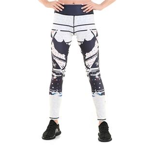 Classical Printed Yoga Leggings, High Waist Tight Yoga Pants, Popular Printed Fitness Leggings, Stretchy Sport Leggings for Women, Ultra Soft Printed Workout Leggings, #L16259
