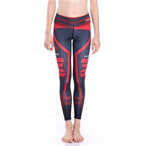 Classical Printed Yoga Leggings, High Waist Tight Yoga Pants, Popular Printed Fitness Leggings, Stretchy Sport Leggings for Women, Ultra Soft Printed Workout Leggings, #L16260