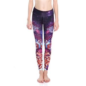 Classical Printed Yoga Leggings, High Waist Tight Yoga Pants, Popular Printed Fitness Leggings, Stretchy Sport Leggings for Women, Ultra Soft Printed Workout Leggings, #L16263
