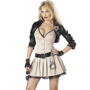 Highway Hottie Costume, Highway Patrol Sexy Costume, Hot Patrol Officer, #N8460