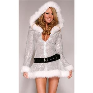 Hooded Halter Dress XT2214