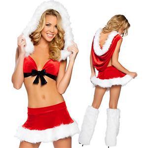 Sexy Santa Costumes, Xmas Lingerie, Sexy Santa Lingerie, #XT3033
