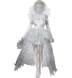 Horrible Ghostly Bride Costume N8719
