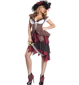 Hot Hooligan Pirate Costume N9967