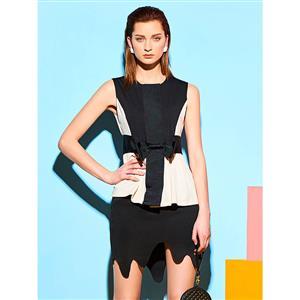 Hot Summer Fashion Dress, Mini Dress for Women, Bodycon Dress, Irregular Hem Dress, Daily Dress, #N14246