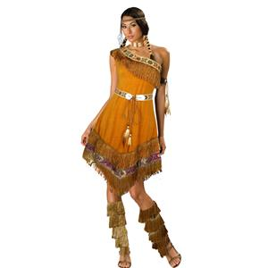 Indian Maiden Costume, Cute Indian Costume, Sexy Pocahontas Costume, Tan Indian Costume, Sexy Native Costume, #N6723