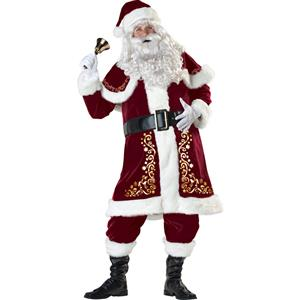 Jolly Ole St. Nick Santa Costume XT6286