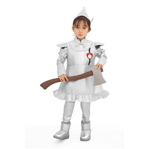 Kids Robot Costume, Halloween Costume Boys, Wizard of Oz Film Tinman Cosplay Costume, Classical Tin Man Role Play Costumes, Kid