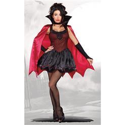Dead Sexy Female Vampire Costume, Kinky Vampire Costume, Womens Vampire Halloween Costume, #N12896