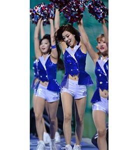 Korea Baseball Babe Costume, Sexy Cheerleaders Costume, Women