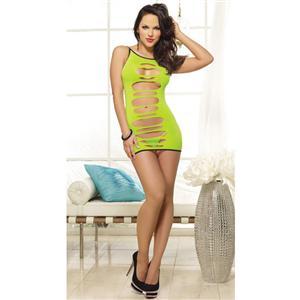 Cut Out Dress, Green Reversible Dress, Reversible Dress, #M2849