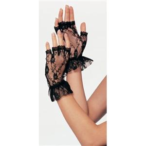 Lace Wrist Gloves, Sexy Gloves, sexy lingerie wholesale, gloves Set wholesale, #HG1914