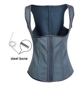 Cheap Waist Cincher Vest, Fashion Latex Underbust Corset, Sexy Steel Boned Underbust Corset Vest, Women