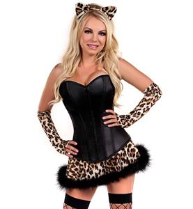 Lavish Naughty Leopard Costume N11102