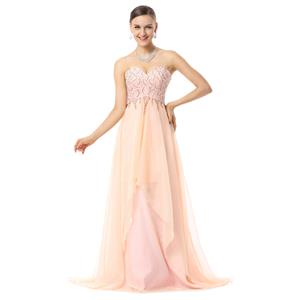 Lovely Maxi Dress, Train Prom Dresses, Prom Dress For Cheap, Beading Prom Dresses, Women