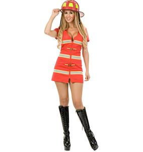 Light My Fire Costume, Firefighter Costume, Firefighter Halloween Costume, #N6309