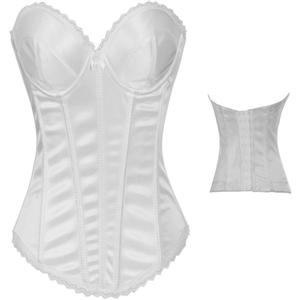 White Corset, Bridal Corset, sexy Corset, #N3053