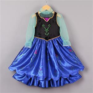 Little Girls Dress Up Anna Inspired Dress N8965