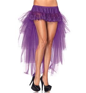 Long Mesh Bustle Skirt HG1926
