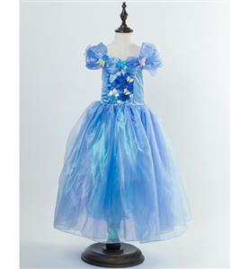 Fairy Cinderella Costume, New Cinderella Kid Princess Dress, 2015 Cinderella Disney Costume, Girl
