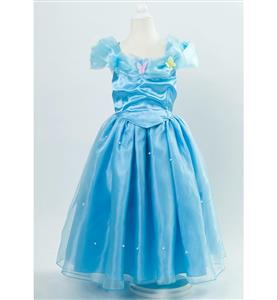 Cinderella Costume, Lovely Kid Princess Dress, 2015 Cinderella Disney Costume, Women
