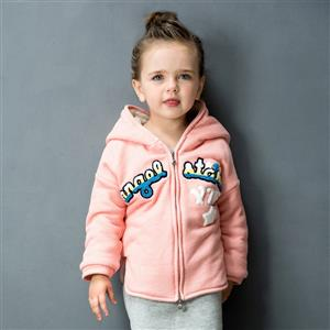 Girls Hoodie Fleece Jacket Sweater, Girls Clothes, Fall Clothes for Girls, Girls Coat, #N12243