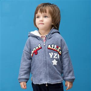 Boys Hoodie Fleece Jacket Sweater, Boys Clothes, Fall Clothes for Boys, Boys Coat, #N12244