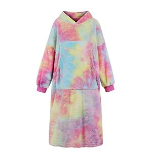 Sexy Dress for Women,Elegant Tie-dye Print Dress,Home Hoodie Mini Dress,Sexy Mini Dresses for Women,Long Sleeves Loose Home Hoodie Dress,Pink Tie-dye Long Sleeve Mini Dress, #N20948