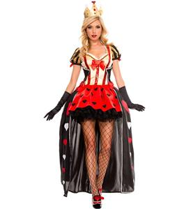 Luxurious Sequeened of Hearts Costume N10678