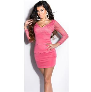 Meeting Pink minidress N6835