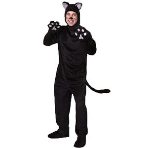 Furry Cat Costume for Mens, Mens Animal Cosplay Costume, Mens Cat Costume, Furry Cat Outfit, Animal Costume, Black Cat Costume, #N14982